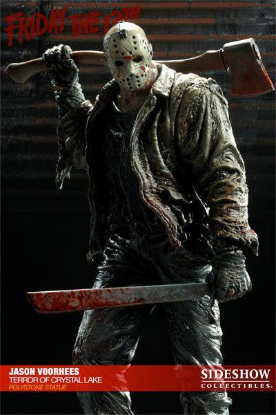 Estátua Jason Voorhees o Terror de Crystal Lake – Sexta-Feira 13
