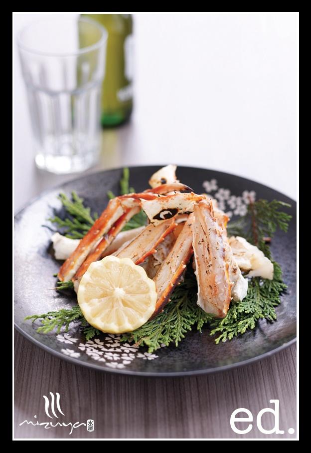 Executive Decisions Magazine - Blue Swimmer Crab - Mizuya Restaurant and Bar - Sydney City - ed. magazine