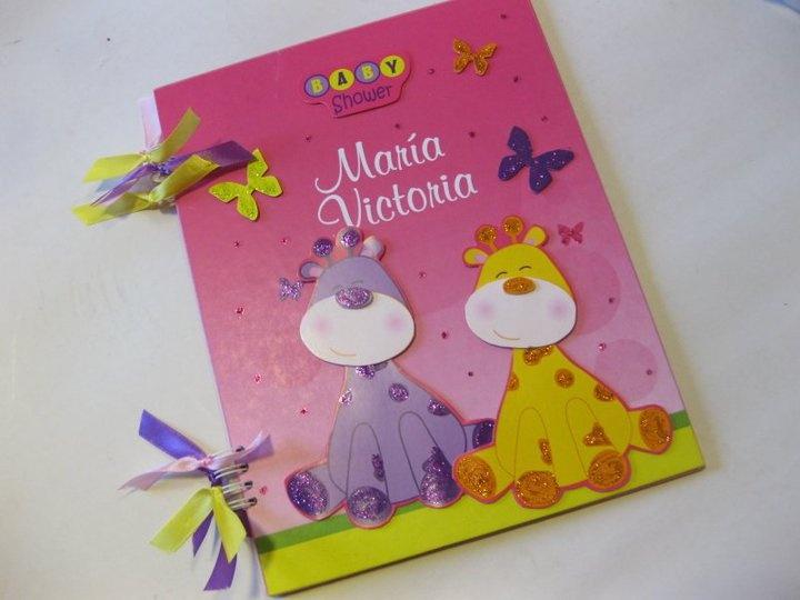 Libro de Mensajes de Baby Shower