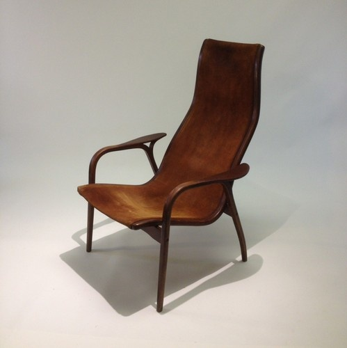 VTG Yngve Ekstrom For Swedese Mobler Lamino Chair 1950's Danish Modern Swedish Beautiful