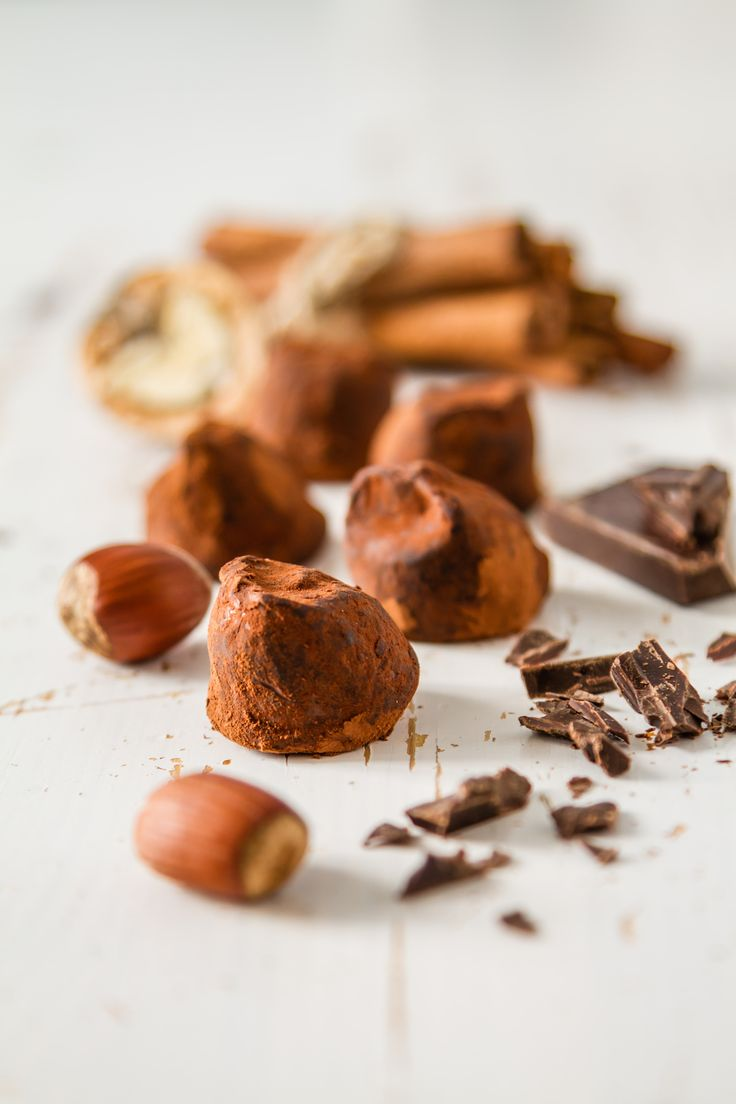 Les Truffes Au Chocolat - Dark Chocolate Truffles Recipe ...