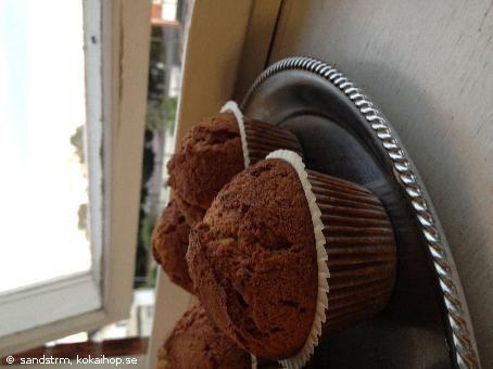 Recept - Pepparkaksmuffins med Äppelmos