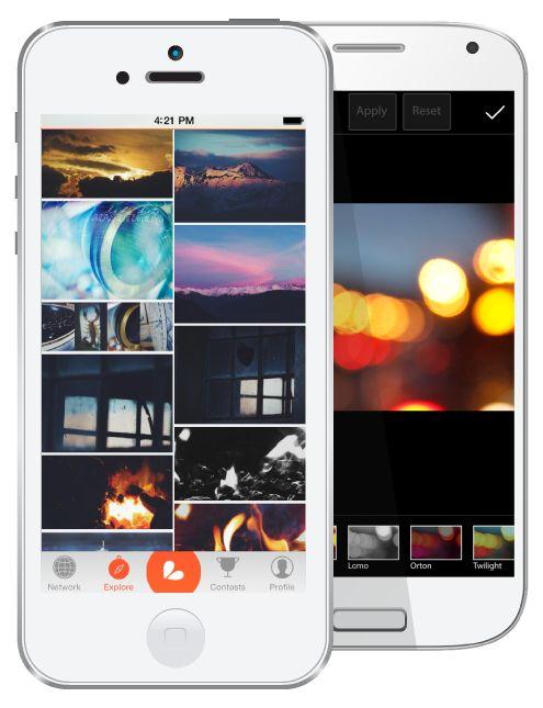 Picsart es una aplicación para editar tus fotos en tu cel. Lo hemos probado y lo recomendamos, muy completo.