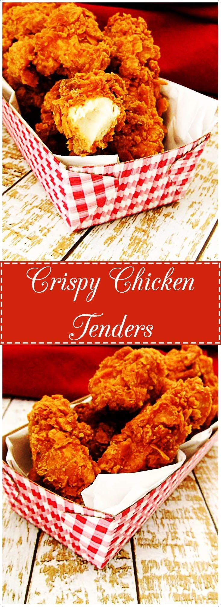 Crispy on the outside and juicy on the inside, these chicken tenders are full of flavor and texture. One bite of these and youll never want restaurant chicken nuggets again. via Berlys Kitchen | Food Blogger | Recipe and Content Development