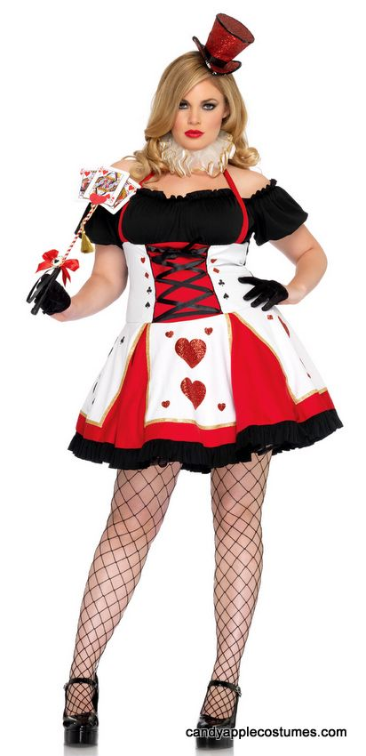 Plus Size Leg Avenue Pretty Playing Card Costume - Candy Apple Costumes - Deluxe Costumes