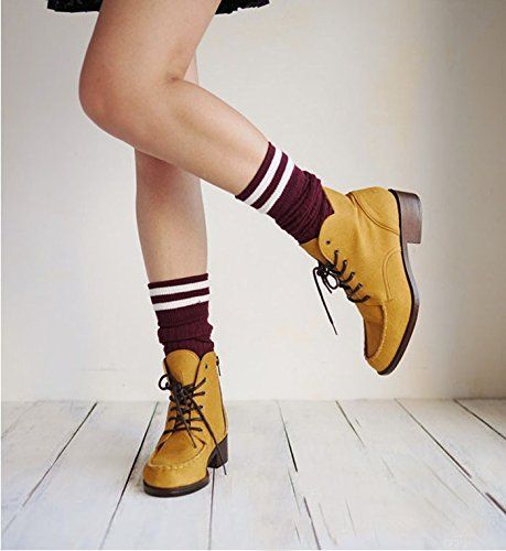 Coromose Womens College Girls Style Thigh High Socks Stockings >>> Continue to the product at the image link.