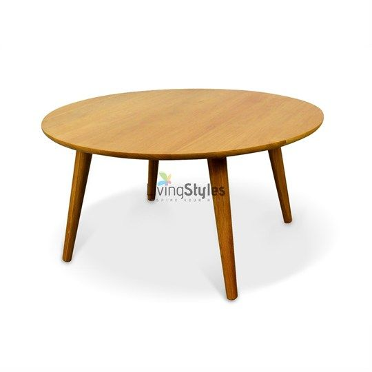 Kiwi 90x45cm Round Coffee Table $350