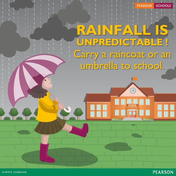 This rainy season, boost your kid's immune system by giving foods which are rich in Vitamin C and other foods which help them boost their immune system. Ensure that they never leave the house without an umbrella or raincoat.