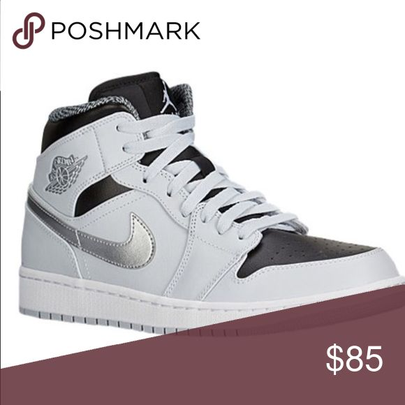 Jordan aj1 mid men's (deadstock) Jordan aj1 mid -men's brand new message me if your interested will accept returns will come with eastbay receipt 6082902824 Nike Shoes Sneakers