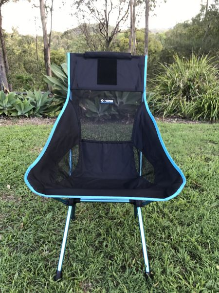We have been carrying around two big chairs on our trip around Australia and on the arrival of Linda and Alan coming to join us for 3 weeks we needed a couple more chairs for camp.  Our thoughts we…