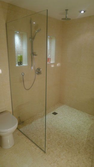 Simple clean wetroom, just what I needed.