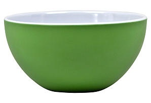 Victorian Serving Bowl, Green/White  $22.00