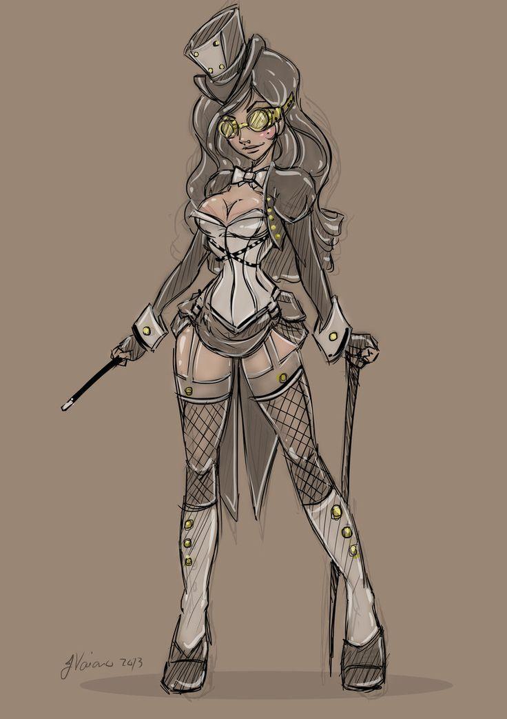 Alternate Victorian Zatanna by NoFlutter.deviantart.com on @deviantART