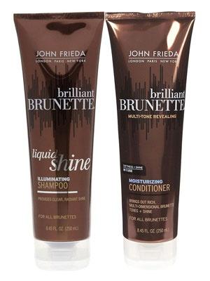 John Frieda Brilliant Brunette Shampoo/Conditioner <3