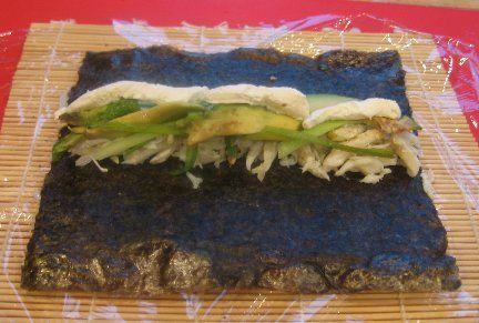 Sushi at home!