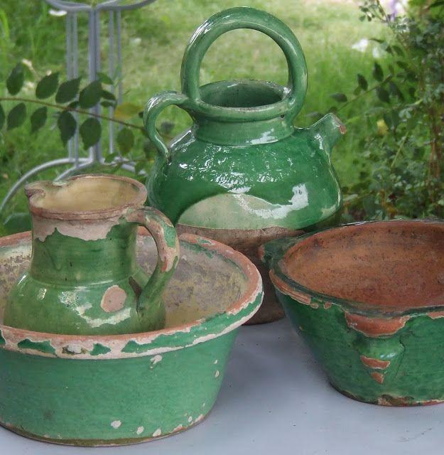 Antiek Frans Aardewerk | French pottery | Favourite things | Pinterest