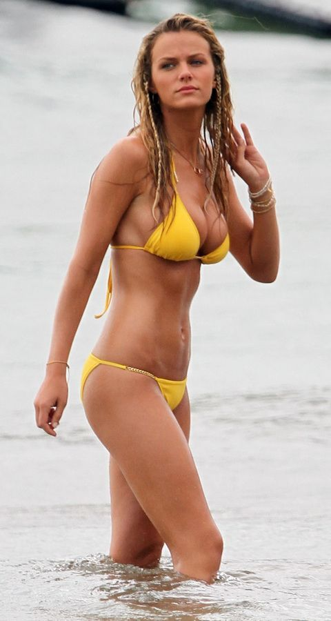 Brooklyn Decker fitness motivation