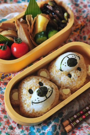 Suzy's Zoo Boof Teddy Bear Kyaraben Bento by akinoichigo
