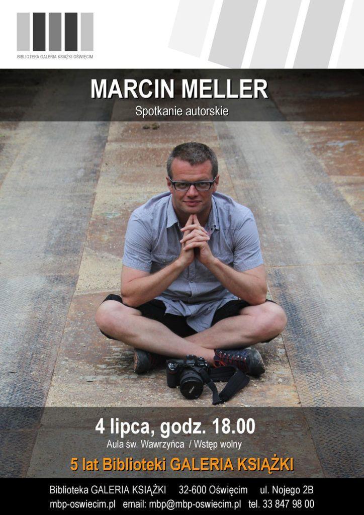 Marcin Meller odwiedzi Galerię Książki