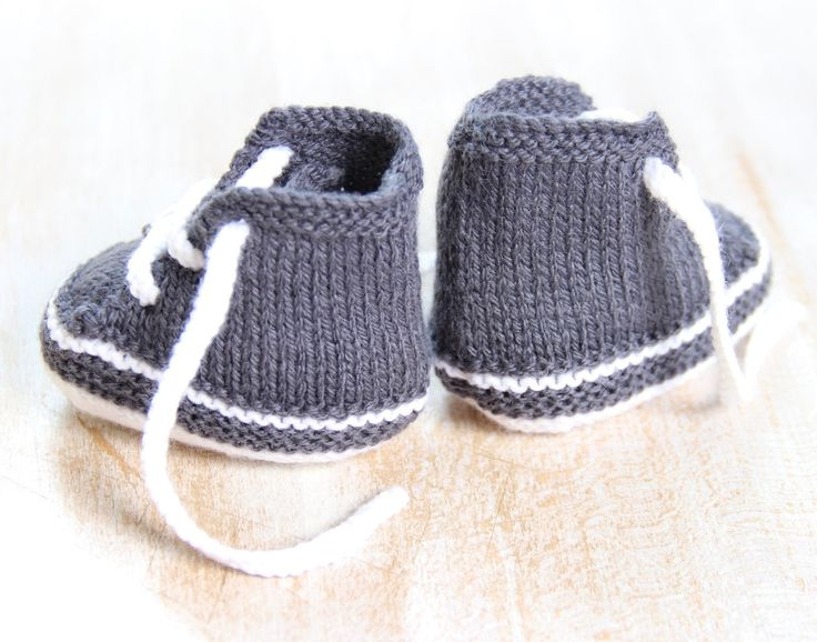 Baby Sneakers / Knitting Pattern Baby by LittleFrenchKnits on Etsy
