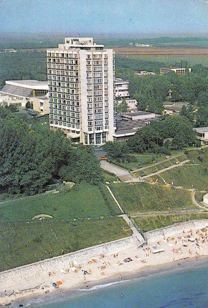 Eforie Nord - Vedere spre H. Delfinul (anii '70)