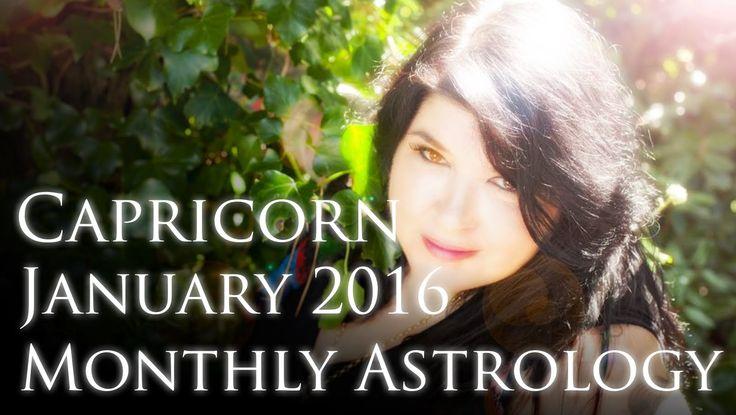 Capricorn Monthly Horoscope January 2016