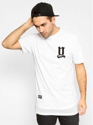 T-shirt Backyard Cartel Why Long (white)