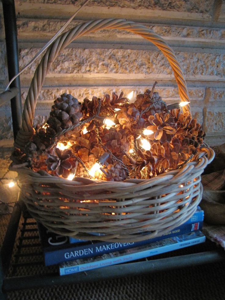 The Pine Cones Looks Great  Enchanted Diy Autumn Decorations To Fall For This Season