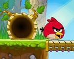 In Angry Birds Escape, the Angry Bird gets lost on a deserted island. You must find a way to help it escape from the island! Have fun playing with the Angry Birds!