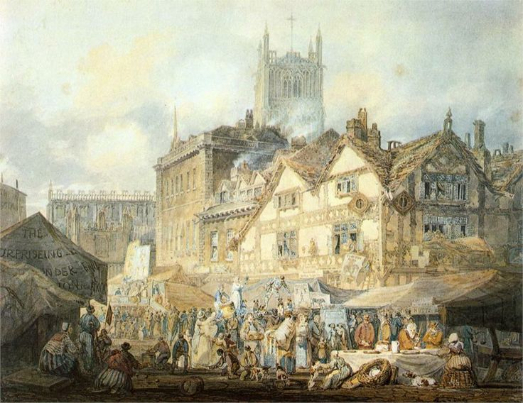 Wolverhampton, Staffordshire - William Turner 1796