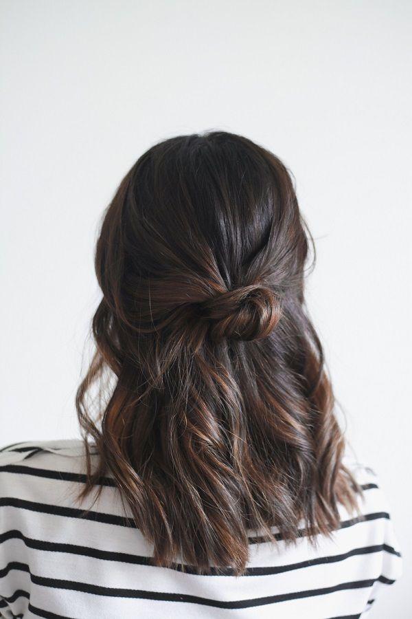 Spring Hair: Half Up Knot