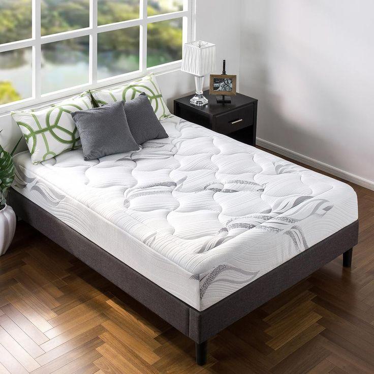 ultraplush supreme 10 in queen memory foam mattress