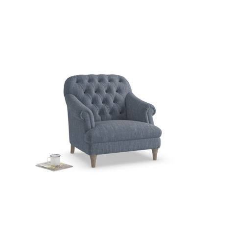 Gertie Armchair | Classic Button-Back | Loaf