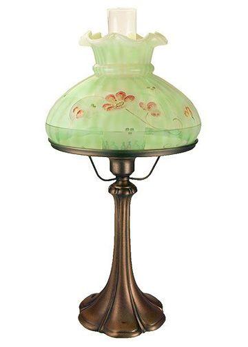 Fenton Art Glass Lamps