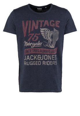 Jack & Jones Print T-shirt - mood indigo for £14.00 (15/01/15) with free delivery at Zalando