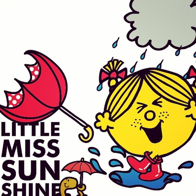 Little Miss Sunshine ☔️☔️