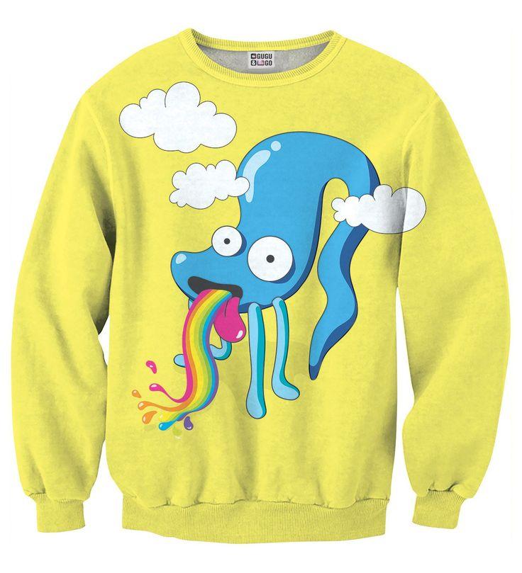 Blue Octopus sweater, Mr. GUGU & Miss GO