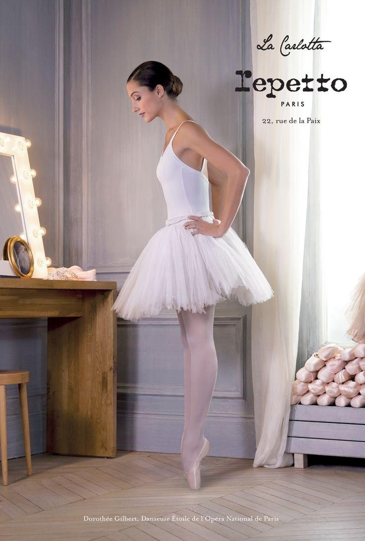 'La Carlotta', the new campaign of the Maison Repetto with Dorothée Gilbert, Prima Ballerina Photograph: James Bort