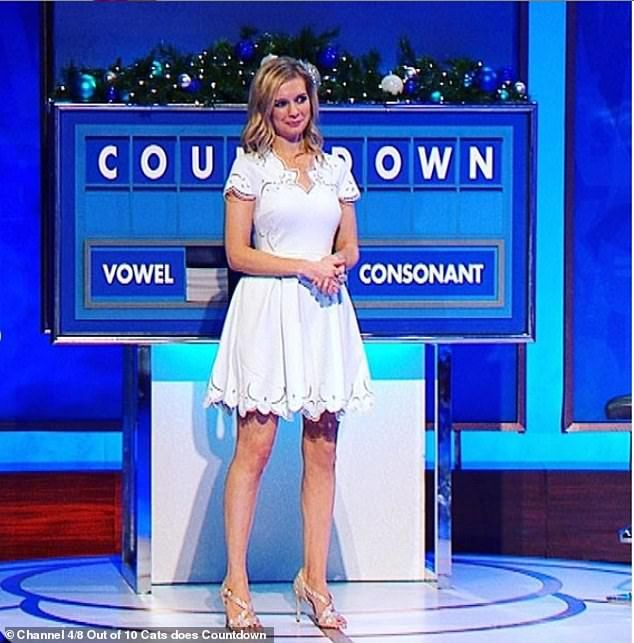 Rachel Riley Reveals Creepy Twin On 8 Out Of 10 Cats Does Countdown Rachael Riley Racheal Riley Rachel