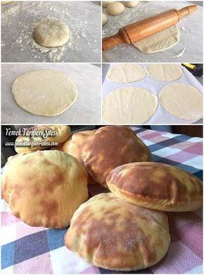 Dışarıdan aldığımız katkılı ekmekler yerine, evde yapacağımız hem de çok kolay bir tarif. Şahsen ben de tam buğday unuyla bir denemeyi düşünüyorum :)