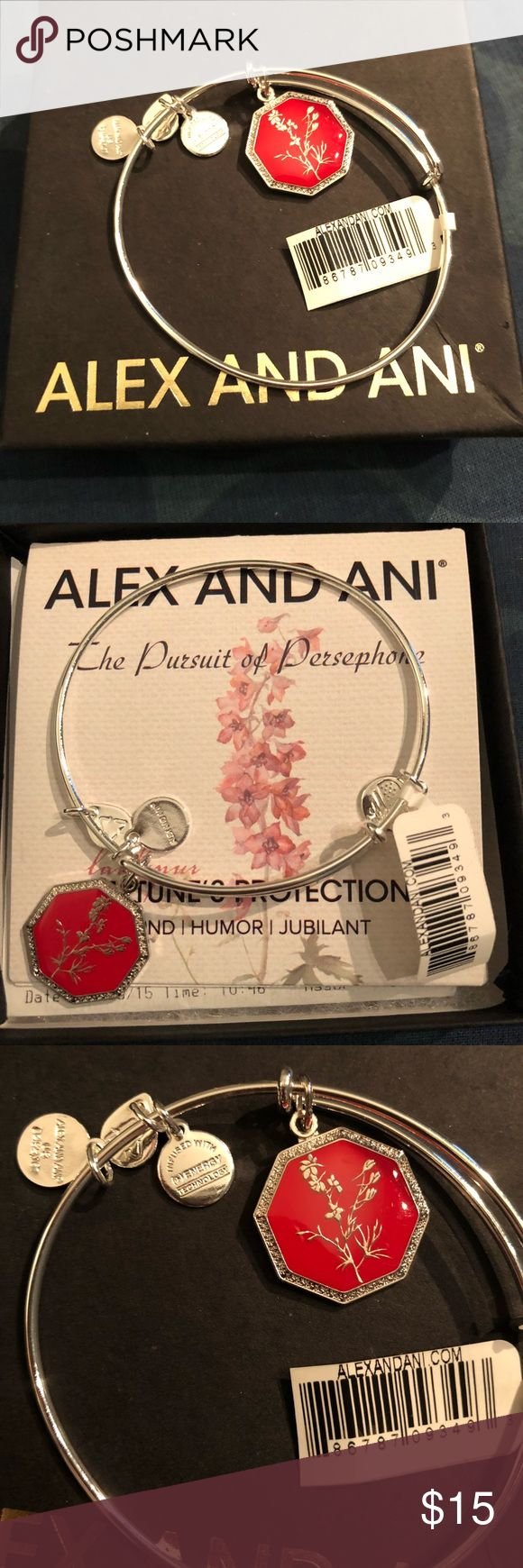 Alex and Ani Bracelet Brand new with tags on and still in the box. Alex and Ani bracelet- Neptune's Protection Alex and Ani Jewelry Bracelets