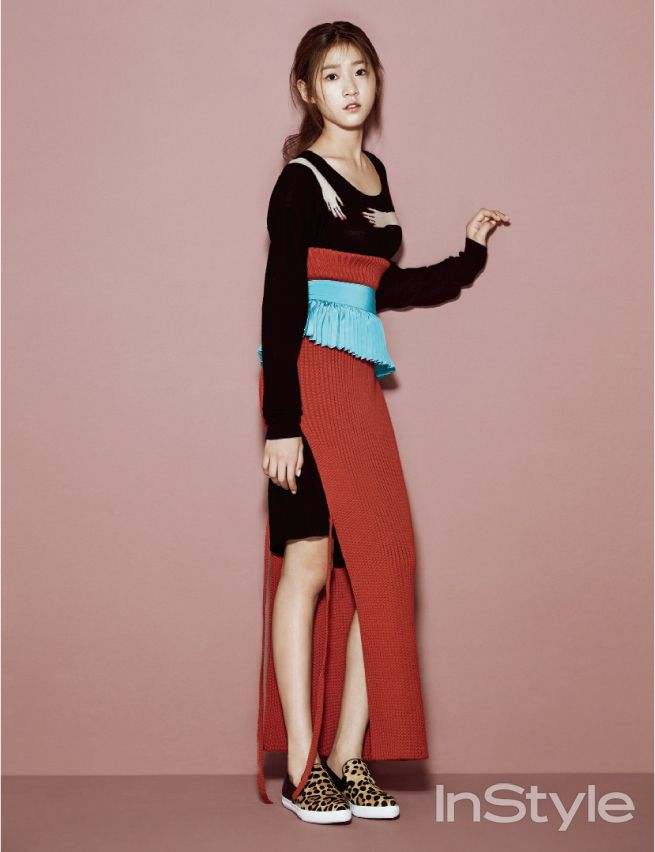Kim Sae Ron - InStyle Magazine October Issue '14