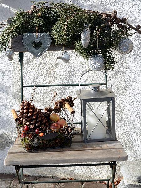 die besten 25 weihnachtsdekoration f r drau en ideen auf pinterest diy weihnachtsschmuck f r. Black Bedroom Furniture Sets. Home Design Ideas