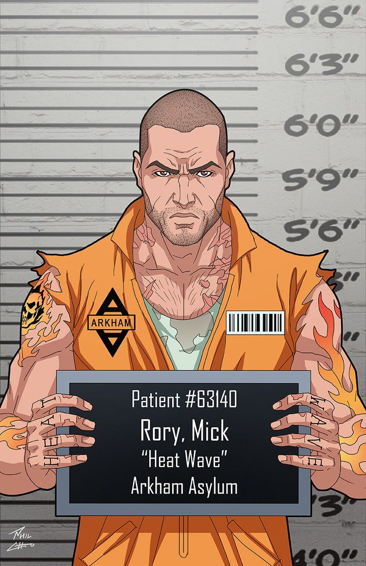 Mick Rory (Earth-27) commission by phil-cho on DeviantArt
