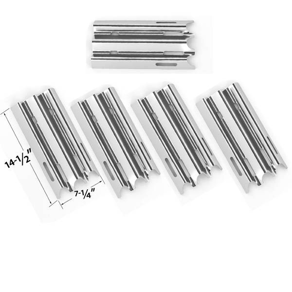 5 PACK STAINLESS STEEL HEAT PLATE FOR MEDALLION, BBQ PRO, JENN-AIR, VERMONT CASTINGS & GREAT OUTDOORS GAS GRILL MODELS Fits Compatible Medallion Models : CF9050, CF9080 Read More @http://www.grillpartszone.com/shopexd.asp?id=33480&sid=26503