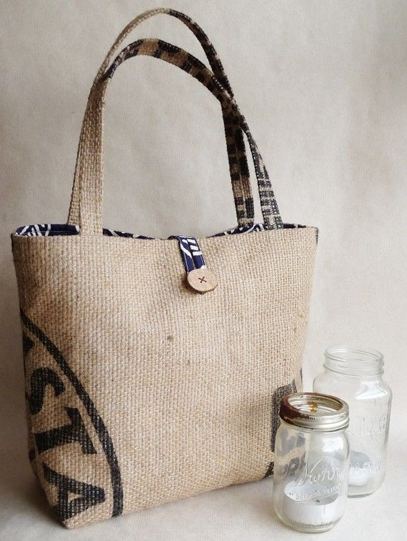 upcycled tote