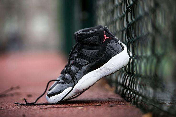 "Air Jordan 11 Retro (BG) ""72-10"" (378038-002) - http://goo.gl/brMuBG"