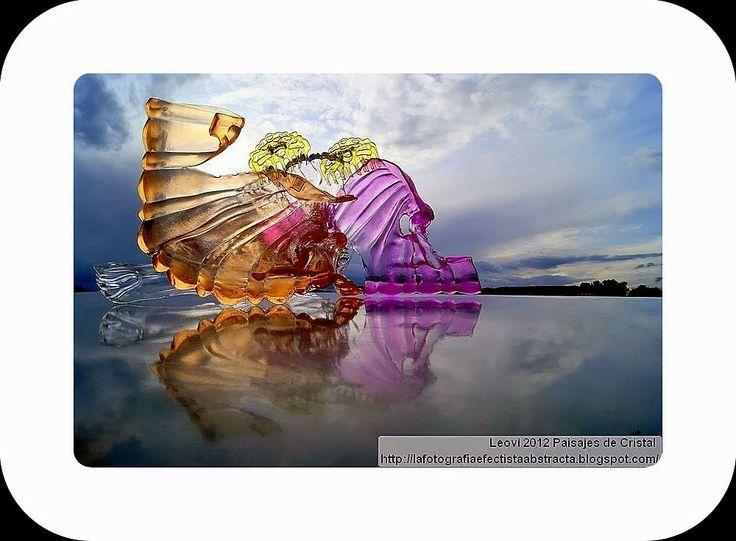 La Fotografía Efectista Abstracta. Fotos Abstractas. Abstract  Photos.: Abstract Photo 2980  Crystal Landscape 135   Es la...