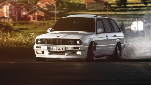 1991 BMW E30 325i Touring Station Wagon 170 hp 1920×1080 HD