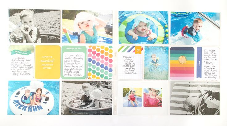 inspiration from our creative team – october | Pages by Erin Stewart featuring the Strawberry Edition.